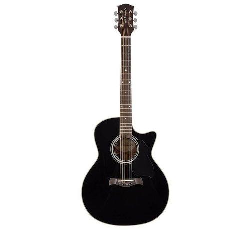 Richwood Richwood G-40-CEBK Semi akoestische western gitaar met stalen snaren