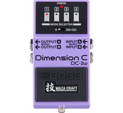 Boss Boss DC-2W Dimension C