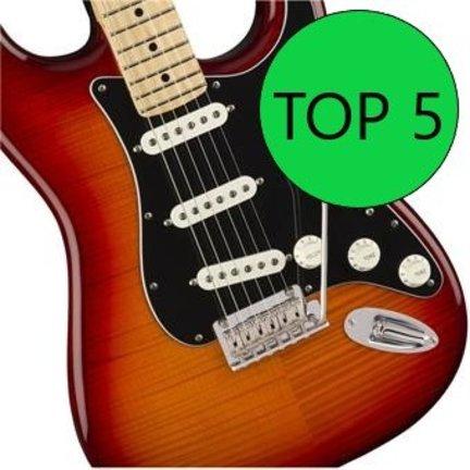 Top 5 elektrische gitaren voor beginners 2019