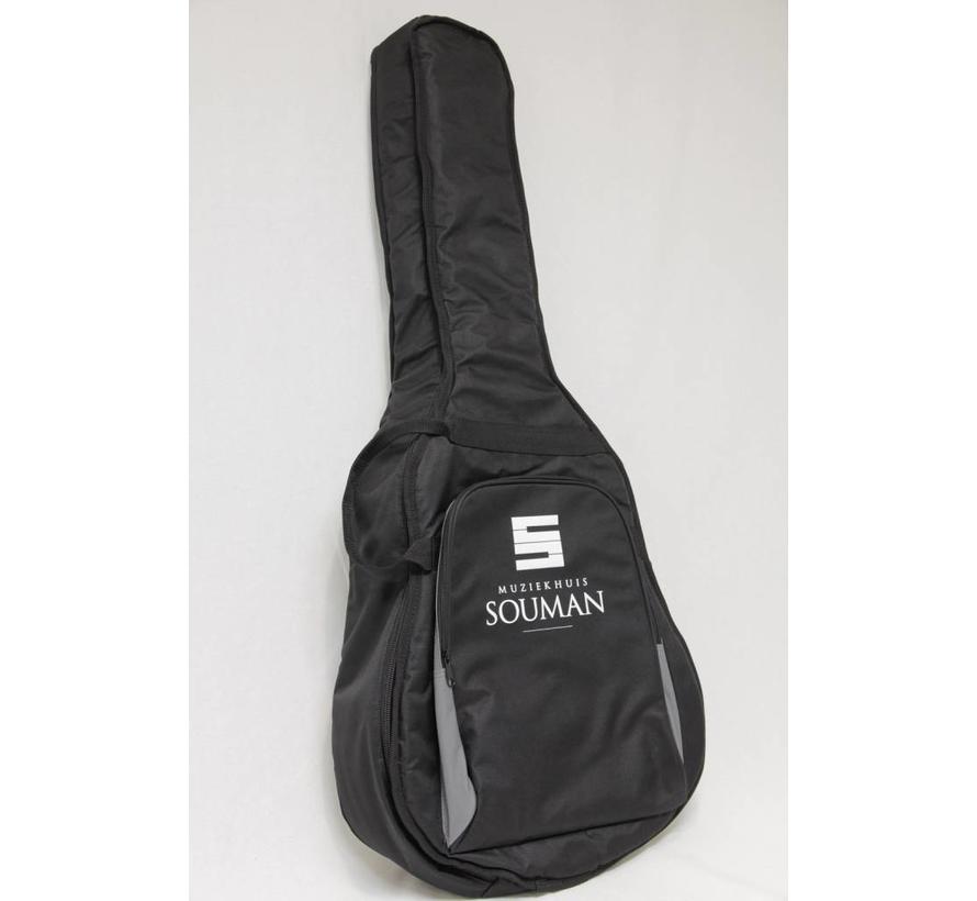 Gitaarhoes voor akoestische gitaar | MS DLX-W | Western | Staalsnaar