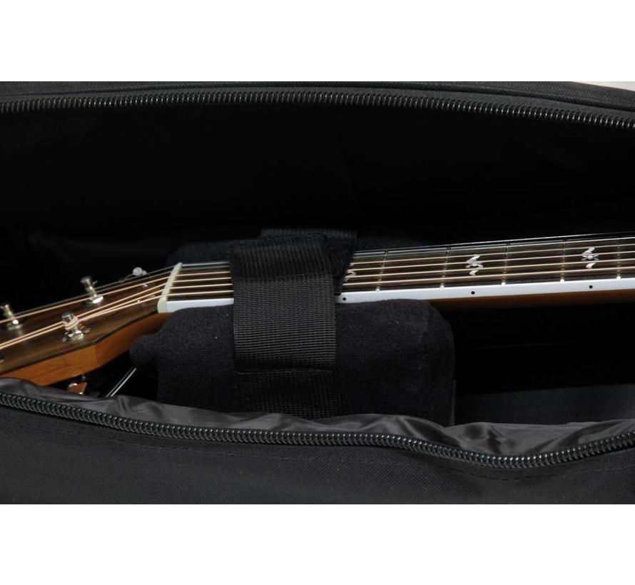 MS DLX-W Style gitaarhoes voor akoestische gitaar | Western | Staalsnarig