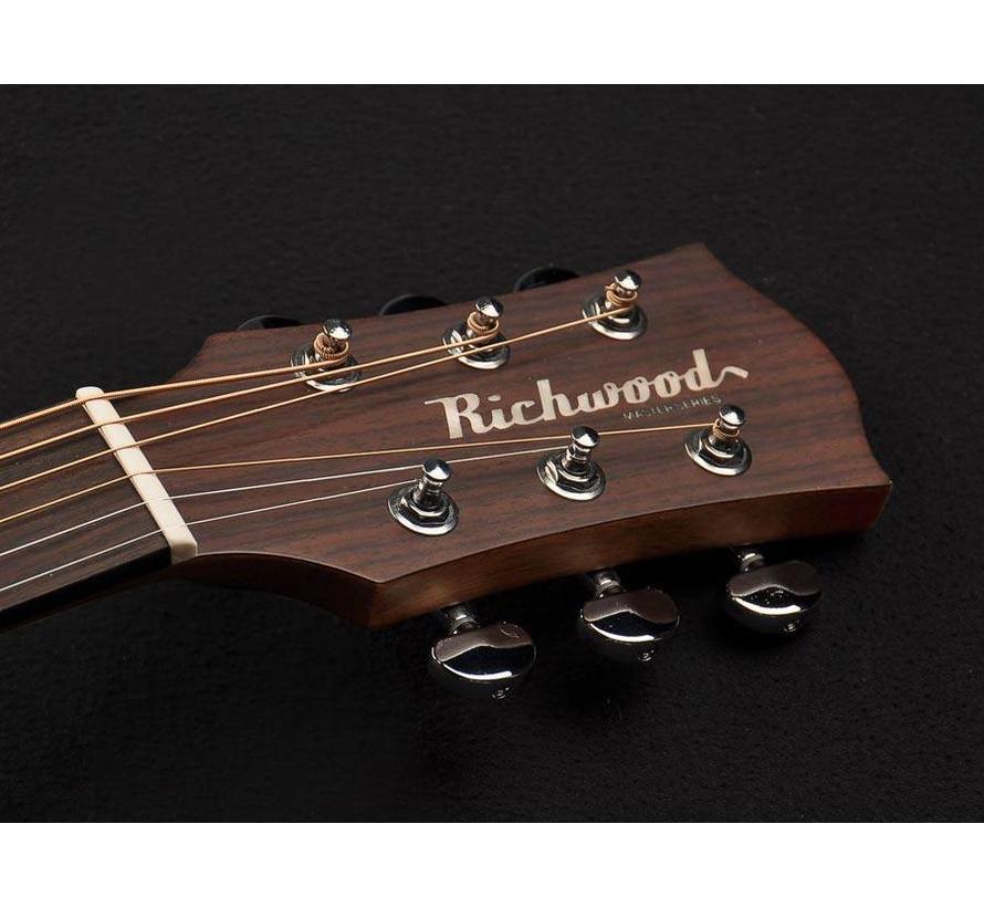 Richwood D-40-CE semi akoestische western gitaar