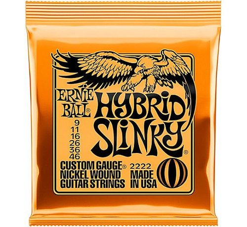 Ernie Ball Ernie Ball Hybrid Slinky snarenset