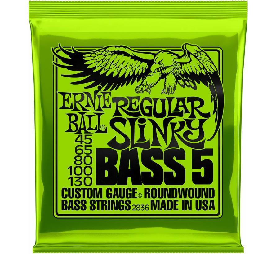 Ernie Ball Regular Slinky Bass 5 snarenset