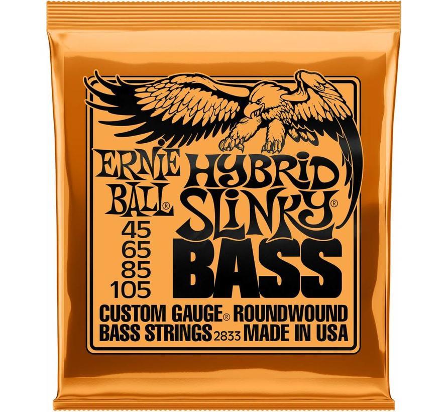 Ernie Ball Hybrid Slinky Bass snarenset