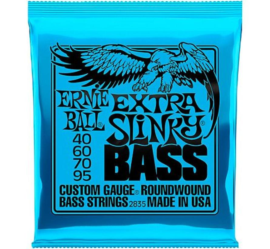Ernie Ball Extra Slinky Bass snarenset