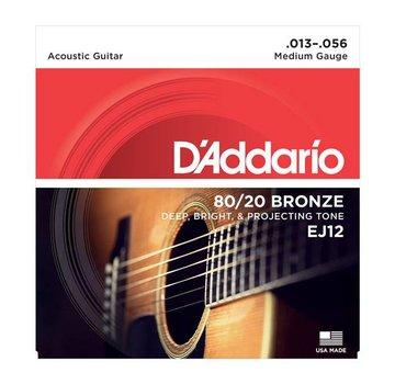 D'Addario D'Addario EJ12 Acoustic  snarenset