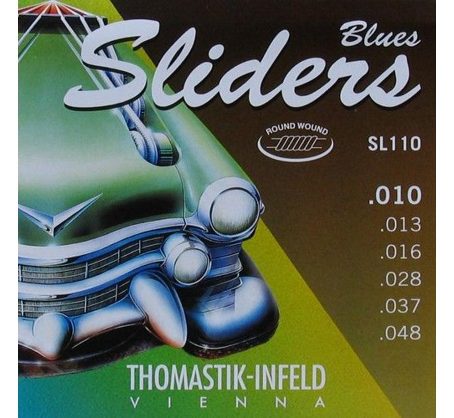 Thomastik SL110 Blues Sliders 10 | 48 snarenset