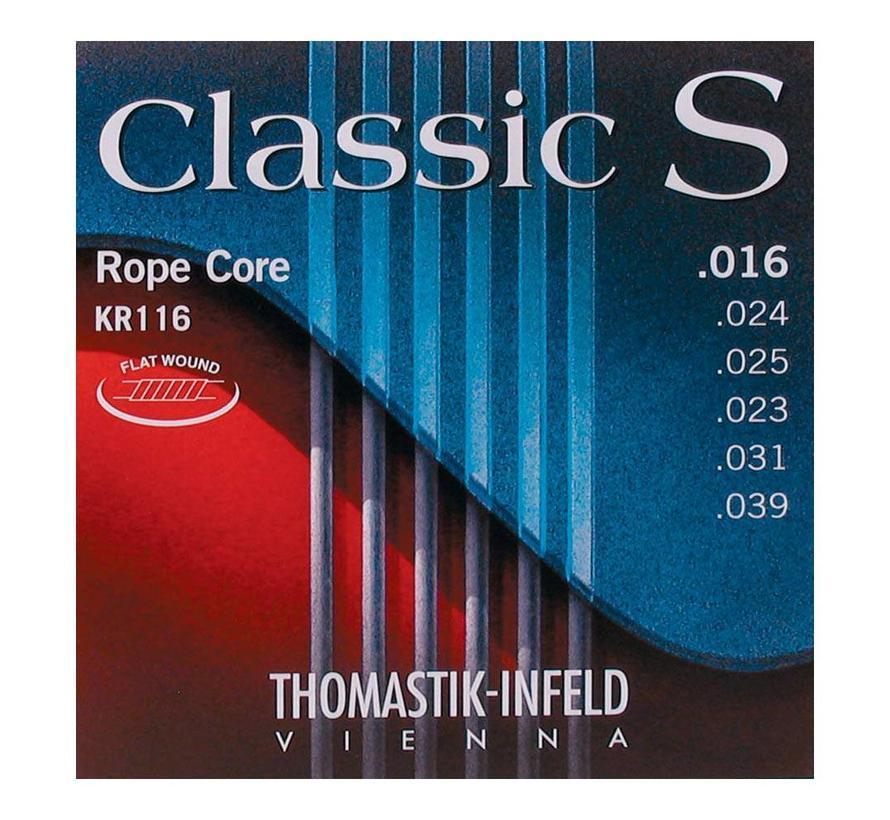 Thomastik KR116 Rope Core Classic S 16 | 39 snarenset