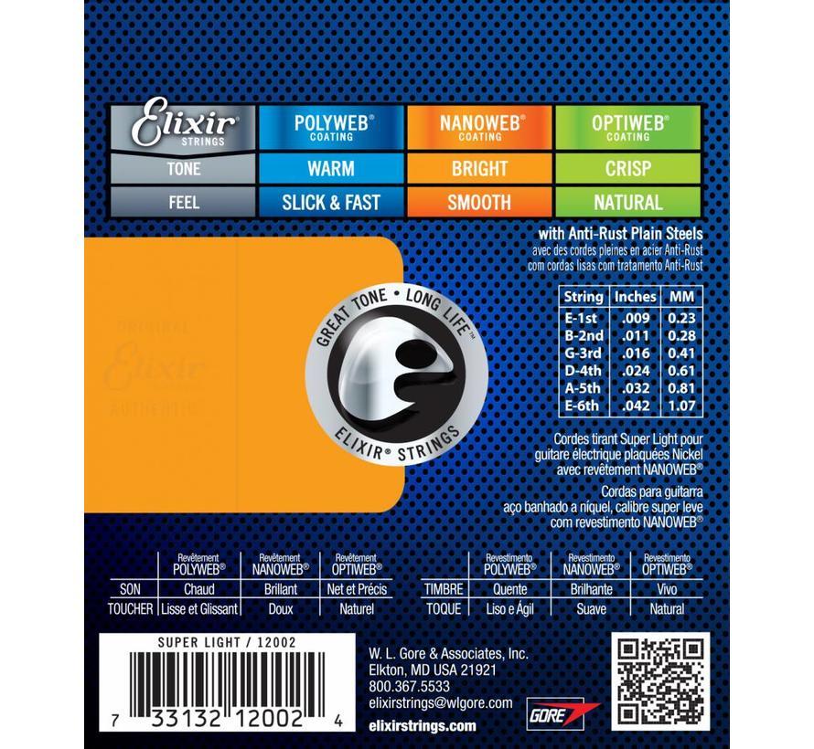 Elixir 12002 Super Light snarenset | 9 - 42