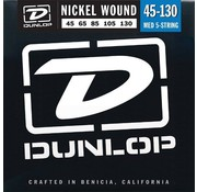 Dunlop Dunlop Nickel Wound 5-Bassnaren Medium snarenset