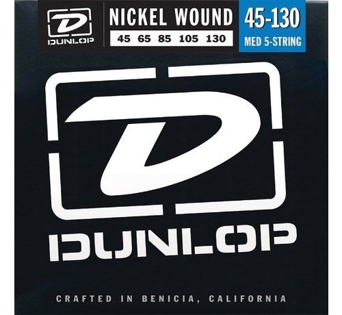 Dunlop Dunlop Nickel Wound Bass snaren Medium snarenset