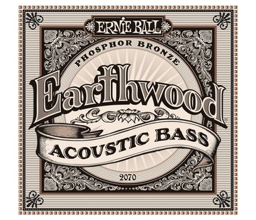 Ernie Ball Ernie ball Earthwood 2070 Akoestisch Bass snarenset