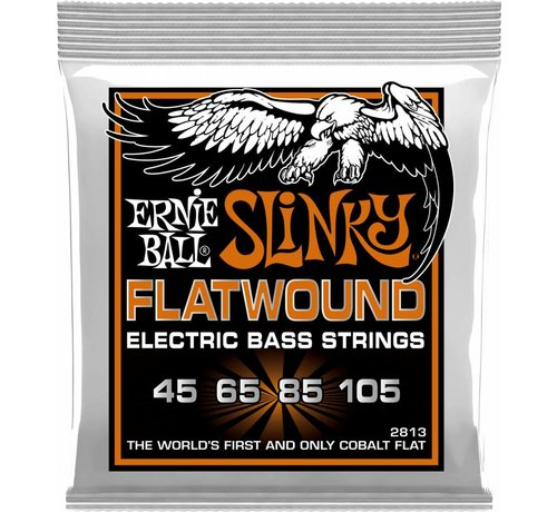 Ernie Ball Ernie Ball Slinky Flatwound 2813 bas snarenset