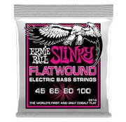 Ernie Ball Ernie Ball Slinky Flatwound 2814 bas snarenset