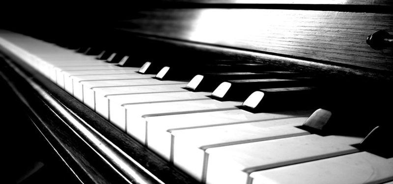 Piano achtergrond