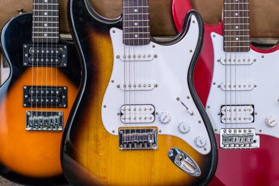 elektrische gitaren vergelijken