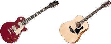 elektrische versus akoestische gitaar