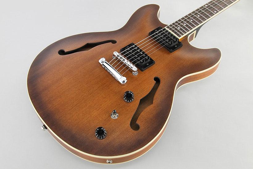 Ibanez AS53 Tobacco  elektrische gitaar Souman