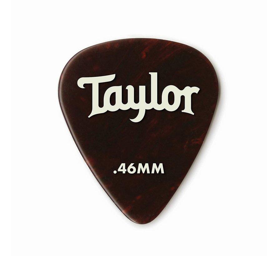Taylor 12 Premium Celluloid plectrums Tortoise Shell