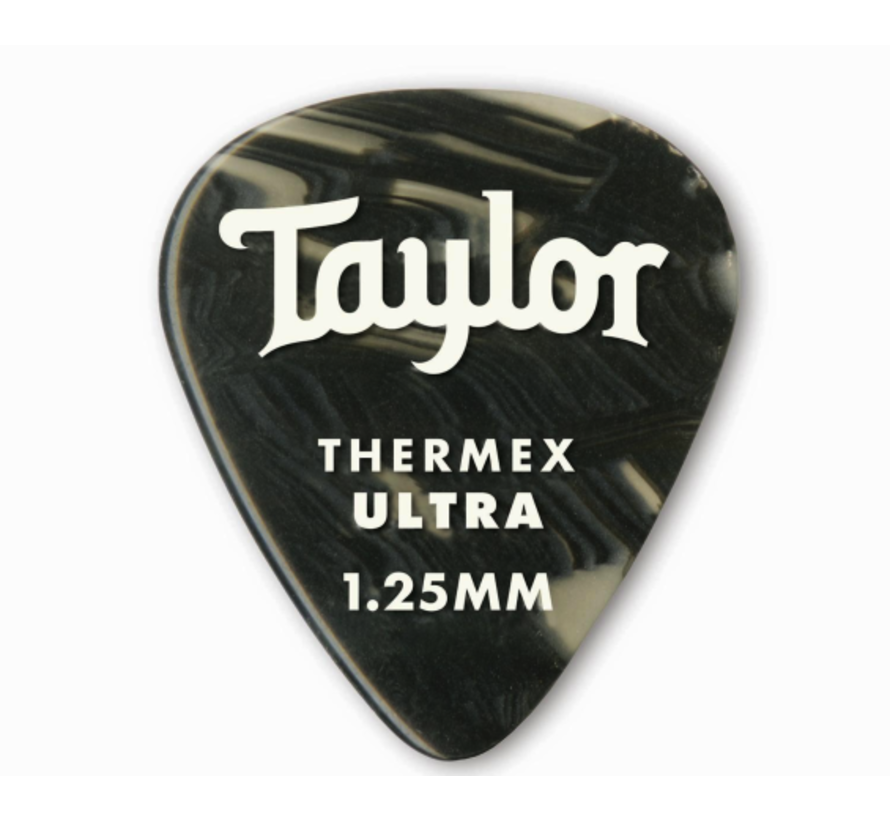 Taylor 6 Premium Thermex Ultra plectrums Black Onyx