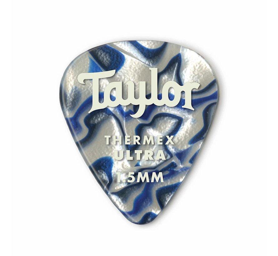 Taylor 6 Premium Thermex Ultra plectrums Blue Swirl