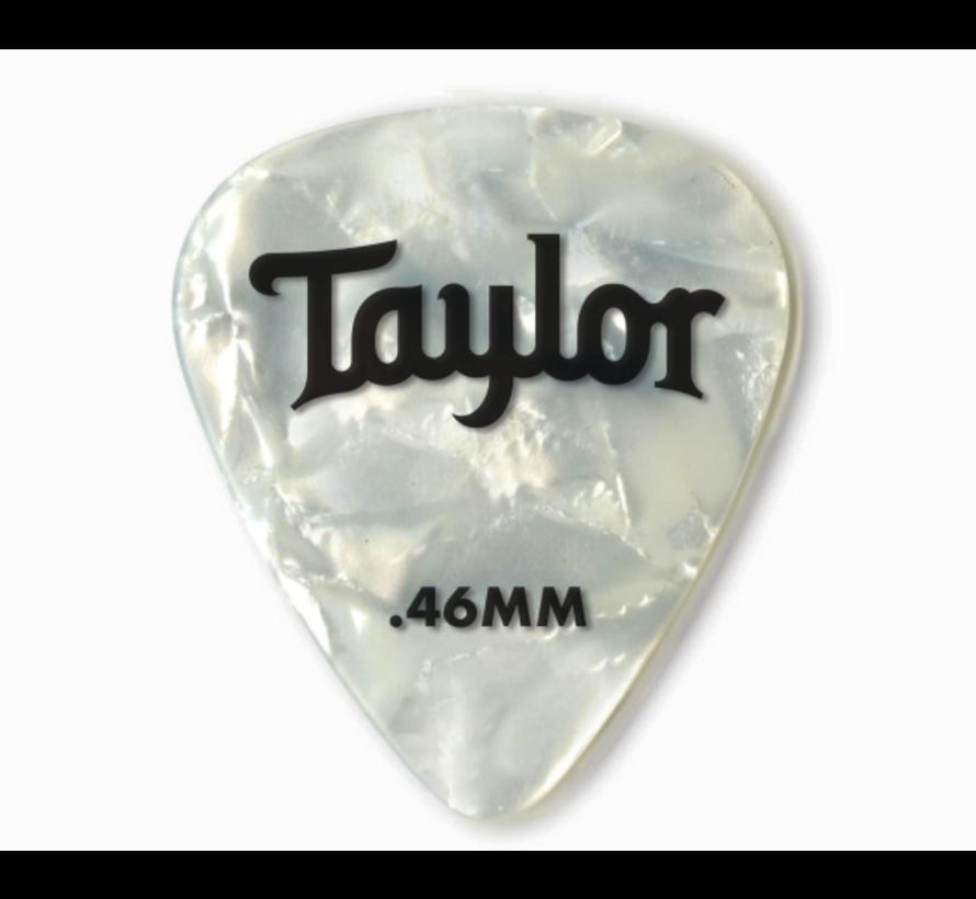 Taylor 12 Premium Celluloid plectrums White Pearle
