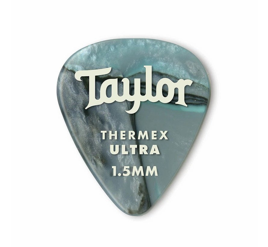 Taylor 6 Premium Thermex Ultra plectrums Abalone