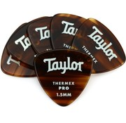 Taylor Taylor 6 Premium Thermex Pro plectrums Tortoise 346