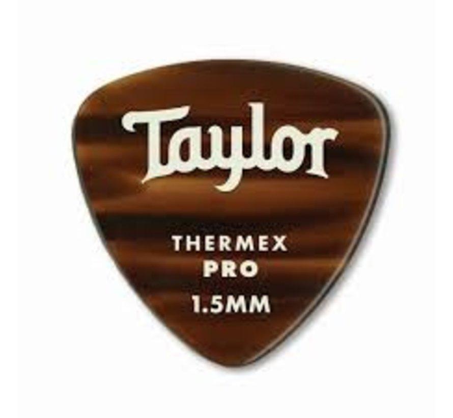 Taylor 6 Premium Thermex Pro plectrums Tortoise 346