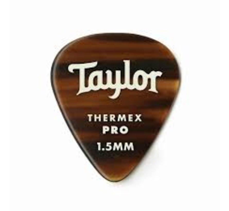 Taylor 6 Premium Thermex Pro plectrums Tortoise 351