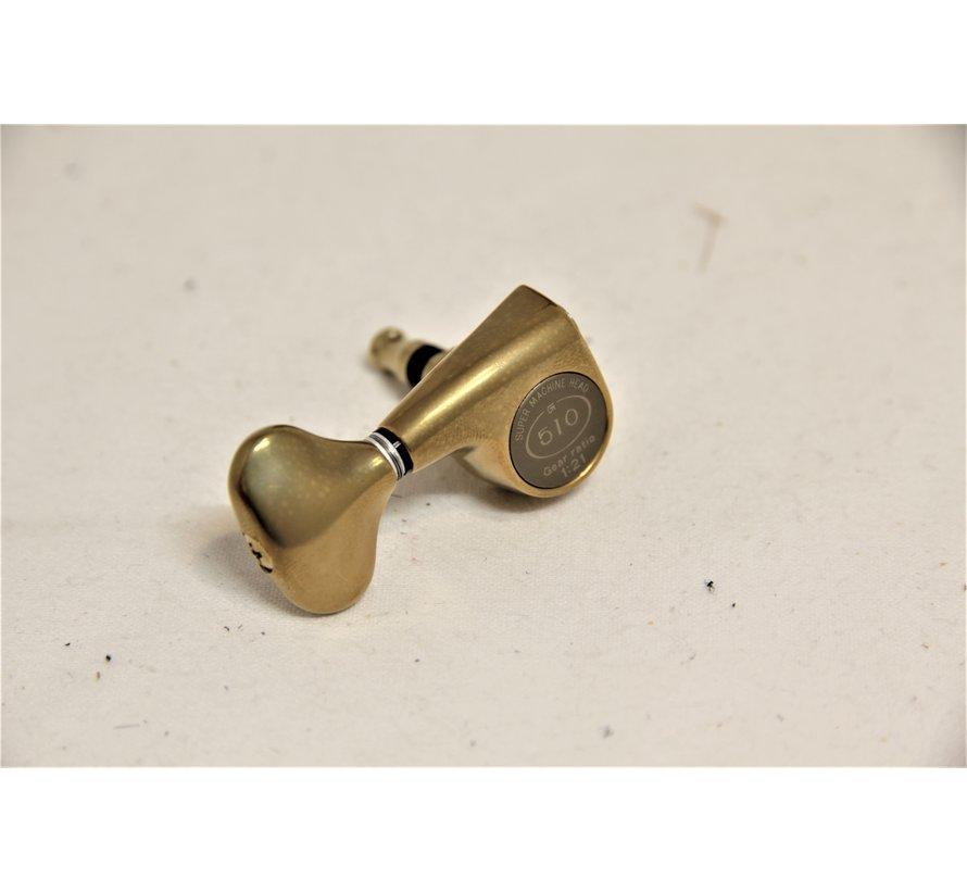 Taylor Gotoh 510 Gitaar Tuners 6 Stuks | Antique Gold