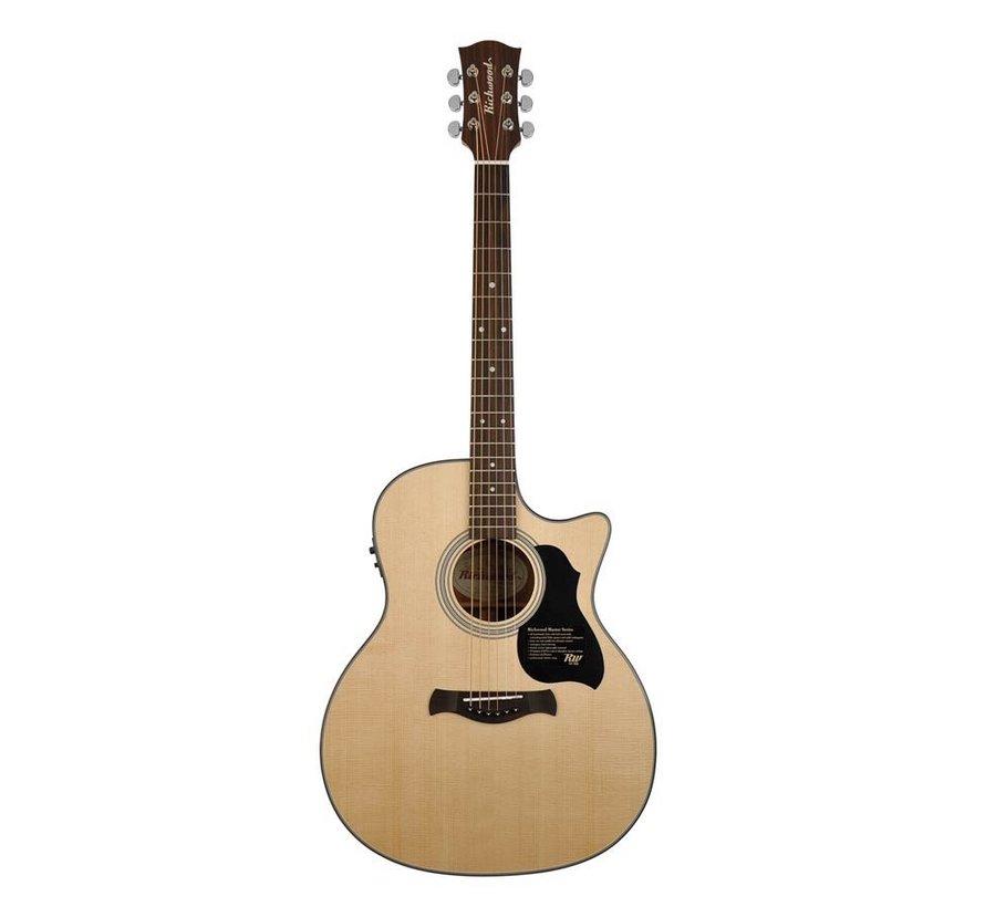 Richwood G-40-CE Semi Akoestische gitaar
