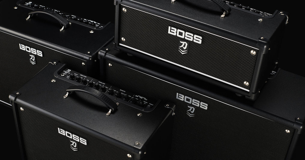 BOSS INTRODUCEERT DE KATANA MKII GITAARVERSTERKER LINE-UP