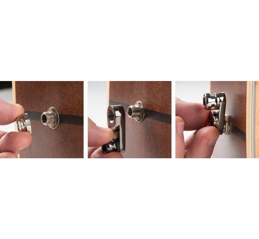 Music Nomad Acousti-Lok | Strap Lock Adapter | Gitaarband houder