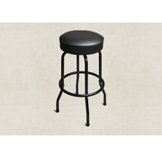 Taylor Deluxe Bar Stool, zwart, 30 inch | BarStool Taylor Deluxe