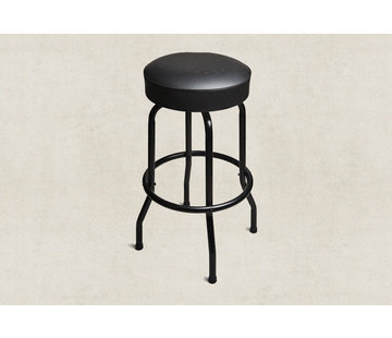 Taylor Taylor Deluxe Bar Stool, zwart, 30 inch   BarStool Taylor Deluxe