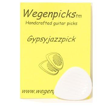 Wegen Picks Wegen Picks 3.5mm Gypsyjazz WIT