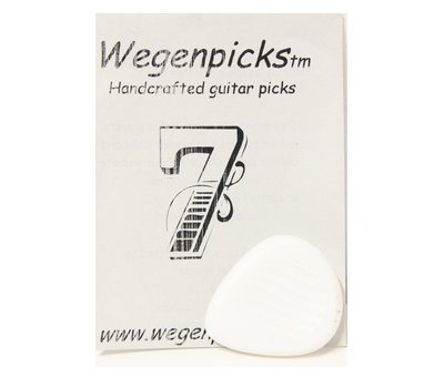Wegen Picks WEGEN PICKS 3.5mm Gypsyjazz WIT