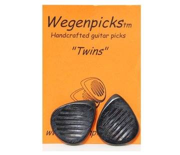 Wegen Picks Wegen Picks 3.5mm Twins ZWART
