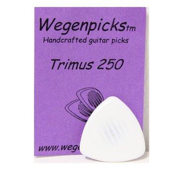 Wegen Picks Wegen Picks 2.5mm Trimus 250 Wit
