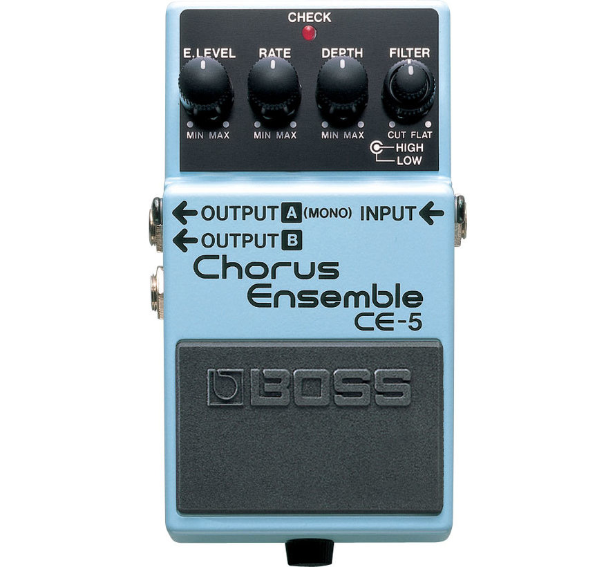 Boss CE-5 Chorus Ensemble gitaar effectpedaal