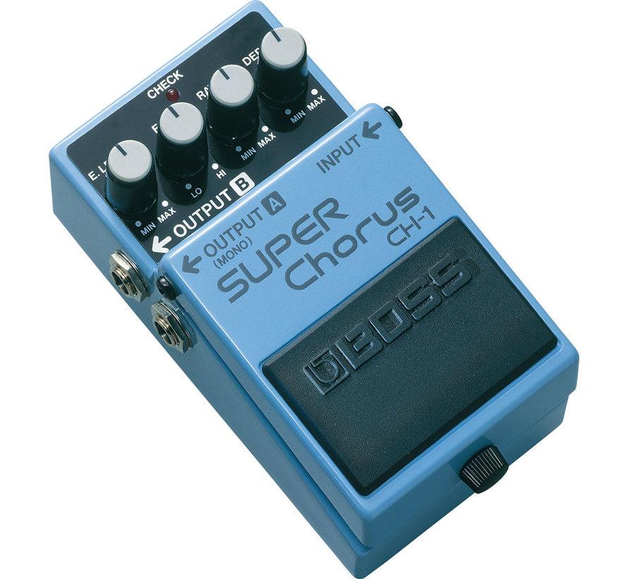Boss CH-1 Super Chorus gitaar effectpedaal