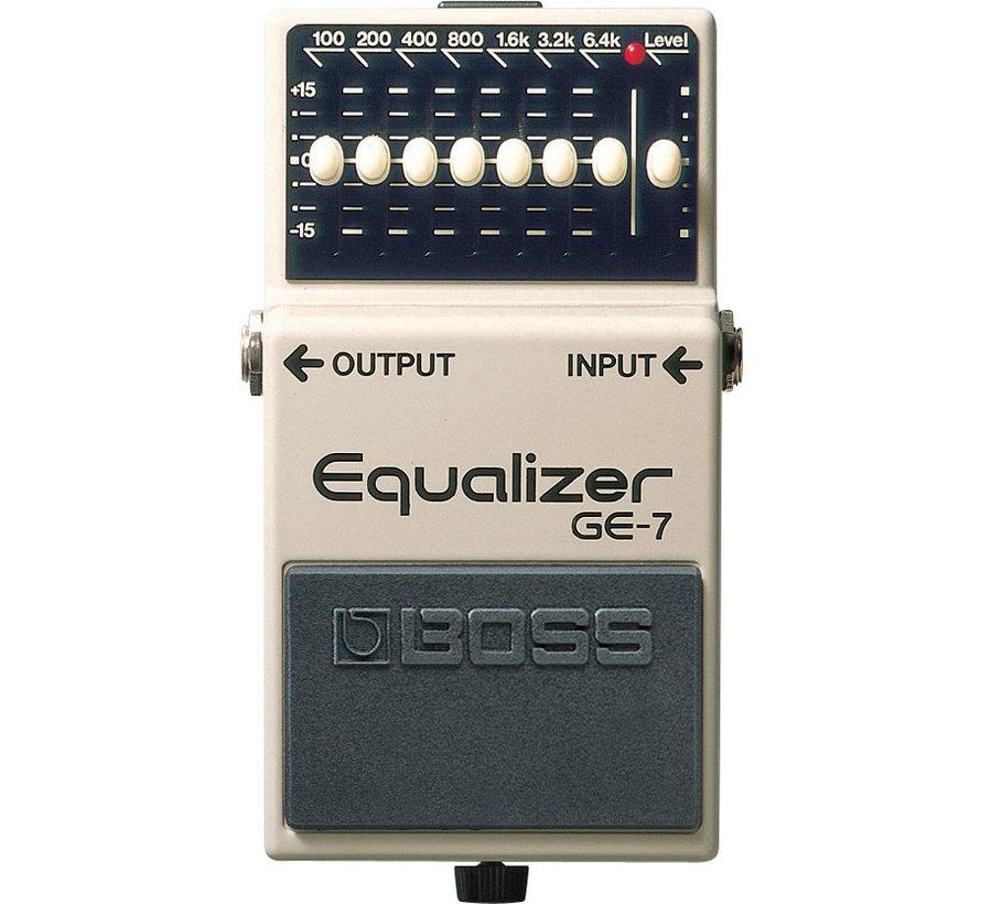 Boss GE-7 Equalizer gitaar effectpedaal