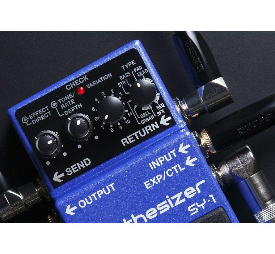 Boss SY-1 Synthesizer gitaar effectpedaal