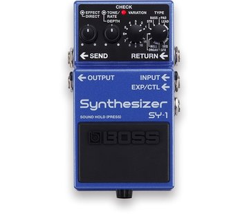 Boss Boss SY-1 Synthesizer gitaar effectpedaal