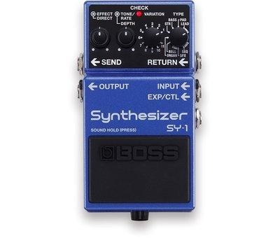 Boss Boss SY-1 Synthesizer gitaar effectpedaal