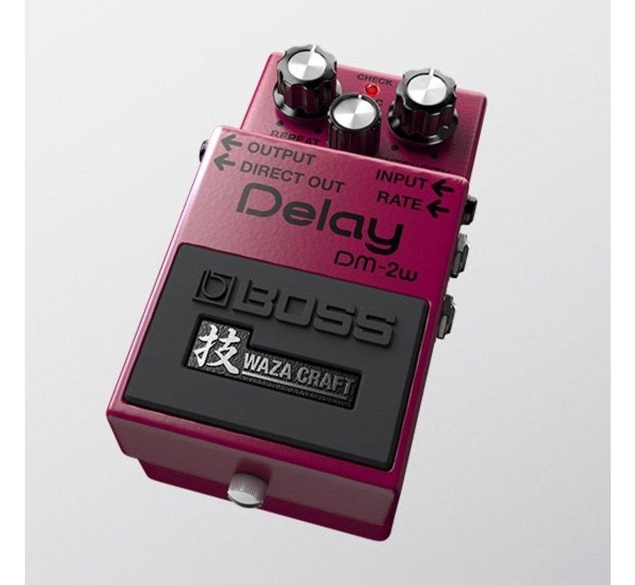 Boss DM-2W Delay gitaar effectpedaal