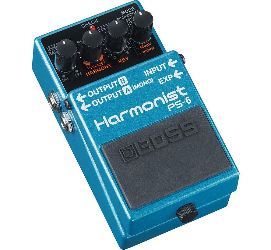 Boss PS-6 Harmonist gitaar effectpedaal