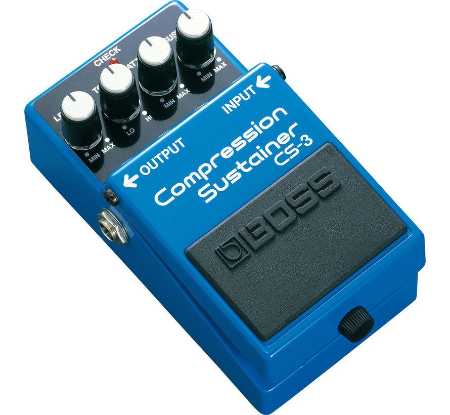 Boss CS-3 Compression Sustainer gitaar effectpedaal